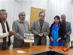 BSDMA Calendar Released by Honourable Chief Minister Of Bihar Shri.Nitish Kumar.Patna(Bihar) 22-01-2016