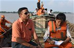 Initiation Of Bihar Flood Documentation Exercise -2016 by BSDMA(Pictures taken by BSDMA professionals in field) 23-08-2016.